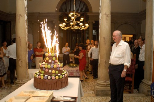 Alessandro Favaretto Rubelli's 80th birthday party