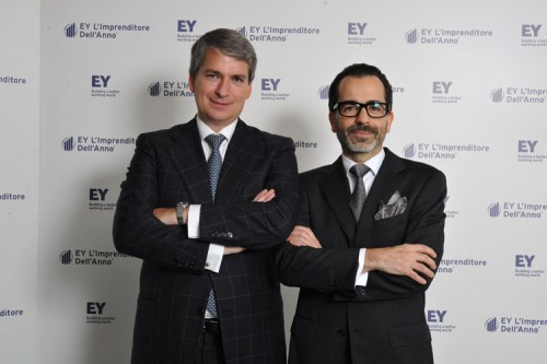 EY Entrepreneur of the Year 2015 award